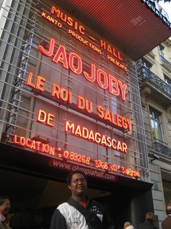 Jaojoby à l'Olympia, les coulisses