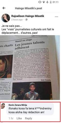 journalisme, Les Nouvelles, Daniele Holy, Madagascar