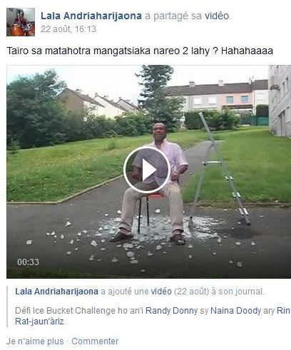 Ice bucket challenge madagascar, Ice bucket challenge, Madagascar