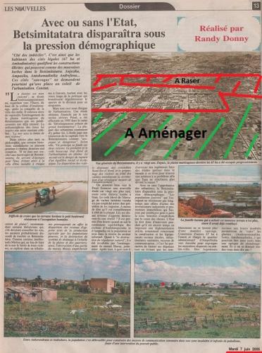 Antananarivo, Randy Donny, randydoit, Betsimitatatra, plan d'urbanisme, Madagascar, Tananarive, 67 ha
